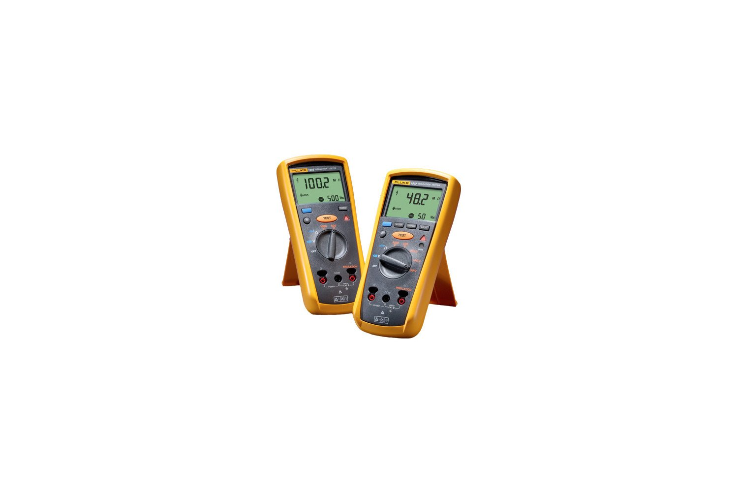Fluke 1503 Insulation Resistance Tester Mil Spec Wire Harness