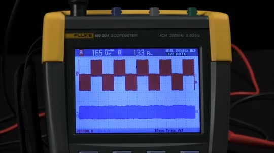 How To Measure Current Using a Fluke ScopeMeter Test Tools