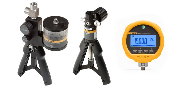 Hand Pumps And Pressure Test Gauges For Field Pressure Testing | Fluke