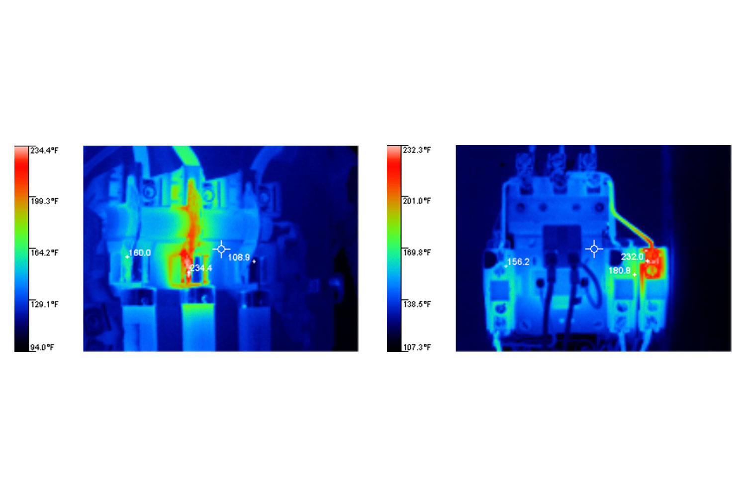 Applications for thermal imaging inspections