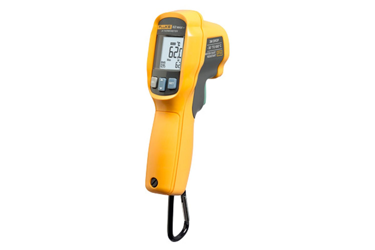Handheld Thermometer Fluke 62max Ir Laser How To Build Infra Red Level Detector