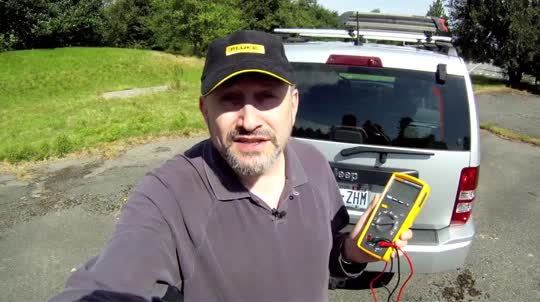 Fluke 233: Test a Rear Window Defroster