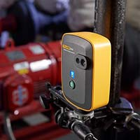 Fluke 3550 FC Thermal Imager installed to monitor assets.
