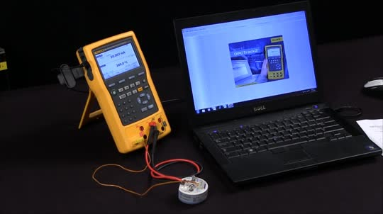 How to connect, download, view and make reports with the Fluke 754