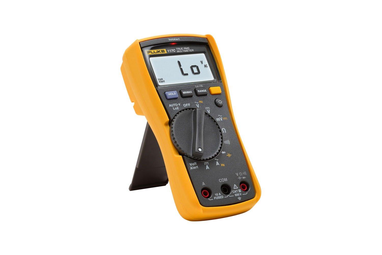 Digital Multimeter multi meter 8 Function with Thermocouple Hi Vis