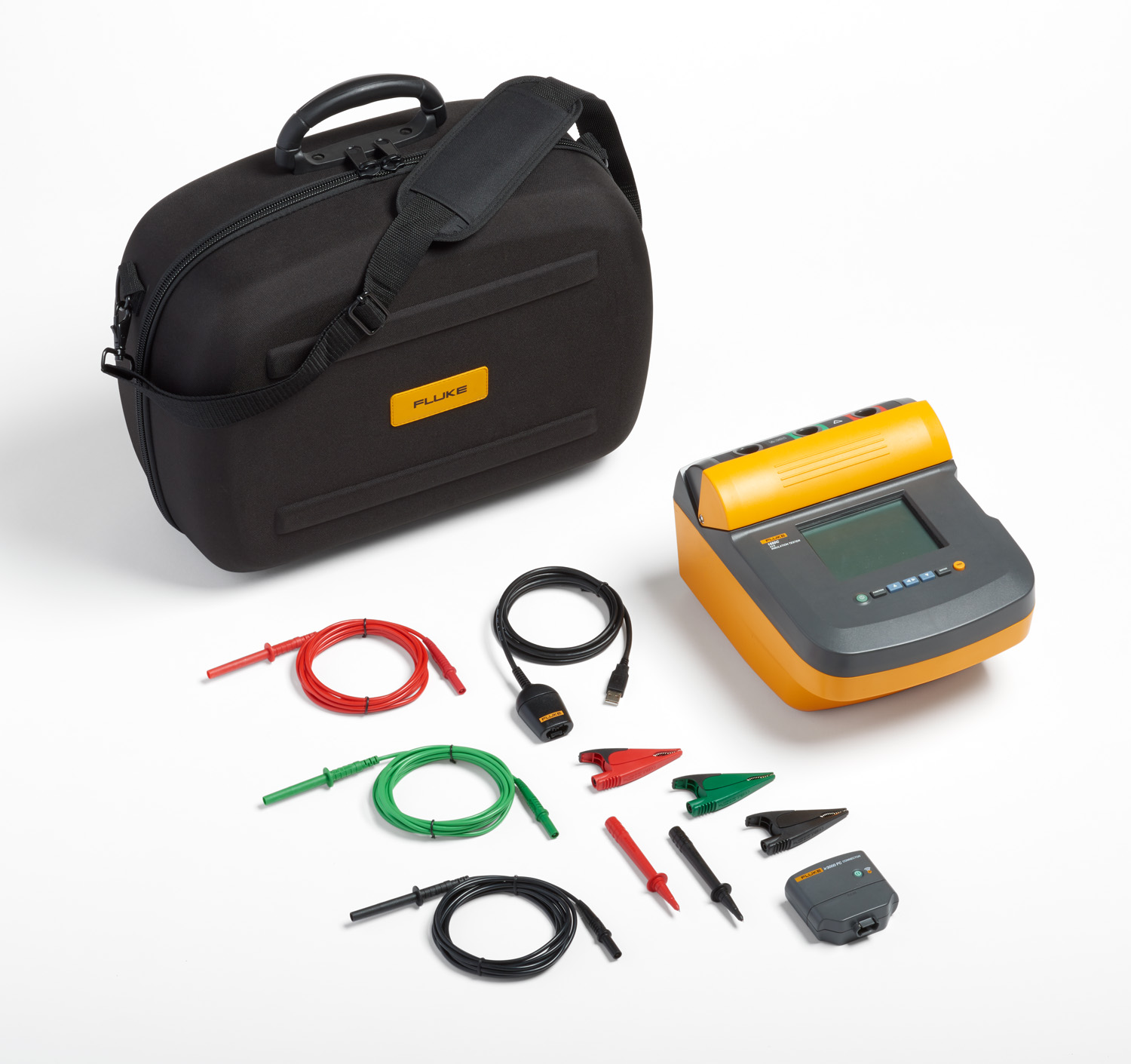 Insulation Tester Fluke 1550c 5 Kv Wireless Mains Voltage