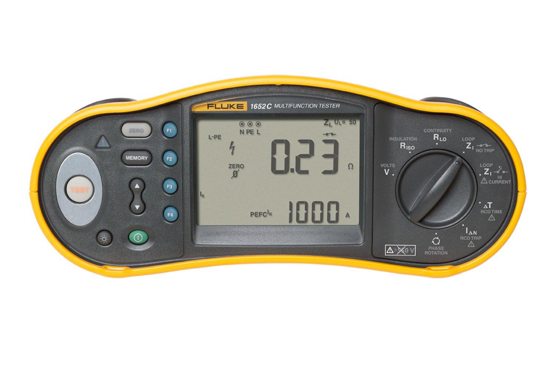 Fluke 1652c Multifunction Installation Tester Continuity Automotive Electrical Fuse Circuit Etc