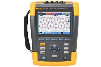 Fluke 430 Series II Energy and Power Quality Analyzer Golden Demo