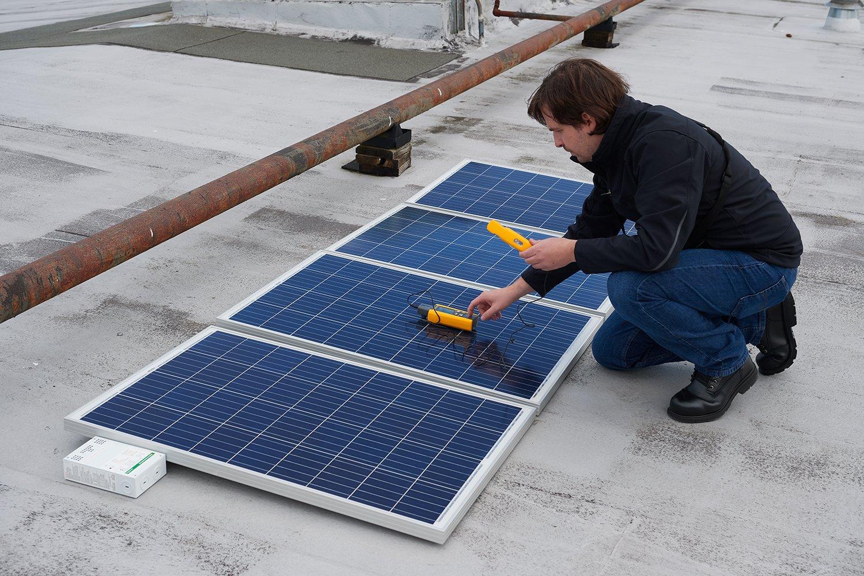 ชุดมิเตอร์วัดรังสีแสงอาทิตย์ FLK-IRR1-SOL | Fluke