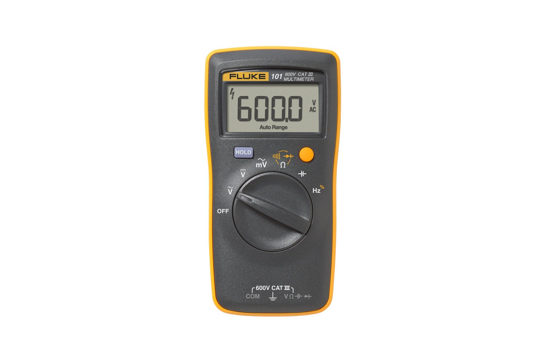 Fluke 101 Digital Multimeter How To Use A Dmm Using Radioelectronicscom