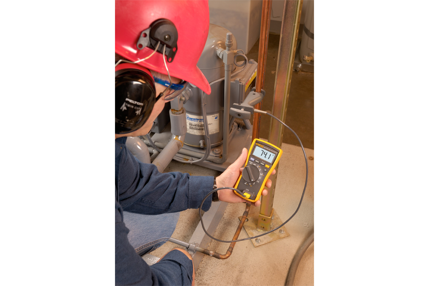Fluke 116 Digital Multimeter For Hvac Service Wiring Problems Why You Need To Own A Meter Electrical Online