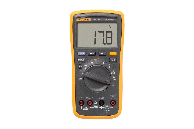 Fluke 17b Digital Multimeter Voltmeter Wiring Diagram