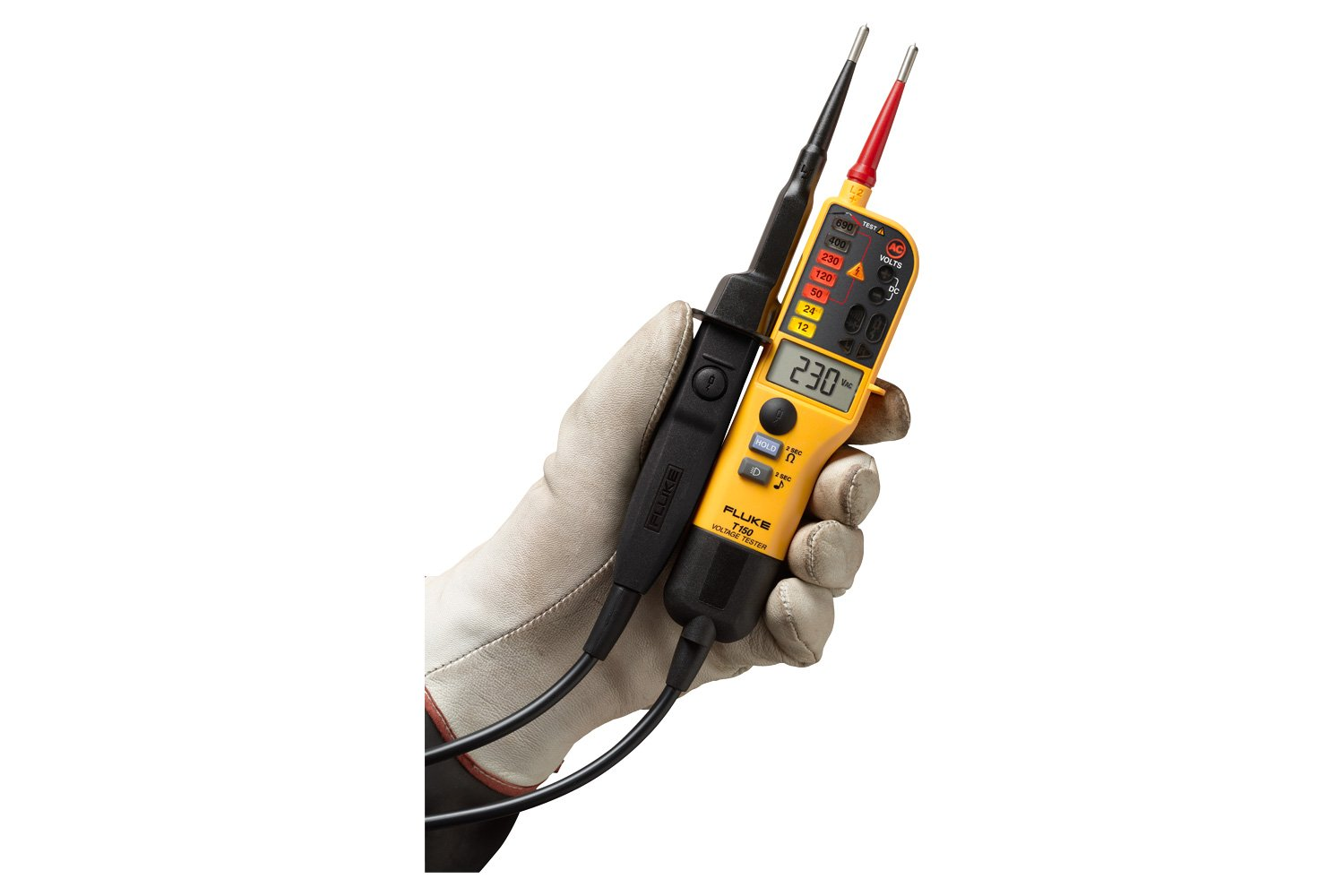 T90 T110 T130 T150 Voltage And Continuity Testers Fluke Long Probe Test Light Car Circuit Tester 12v 6v Dc