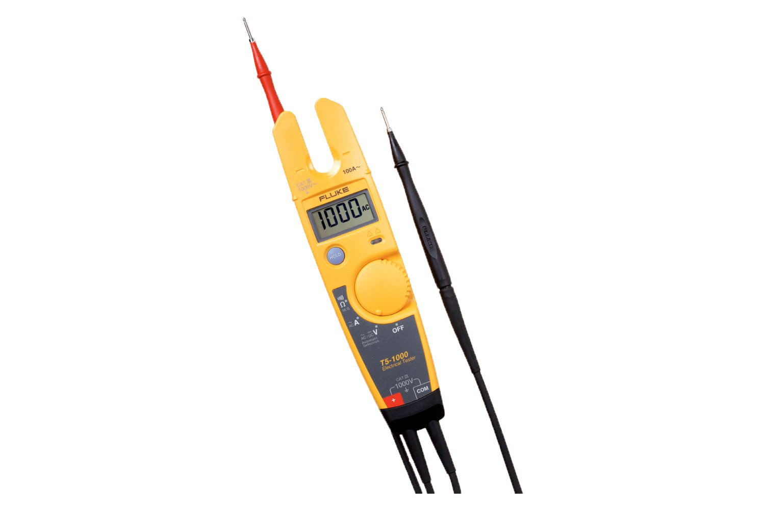 Fluke T5 1000 Voltage Continuity And Current Tester Testers Electrical Online