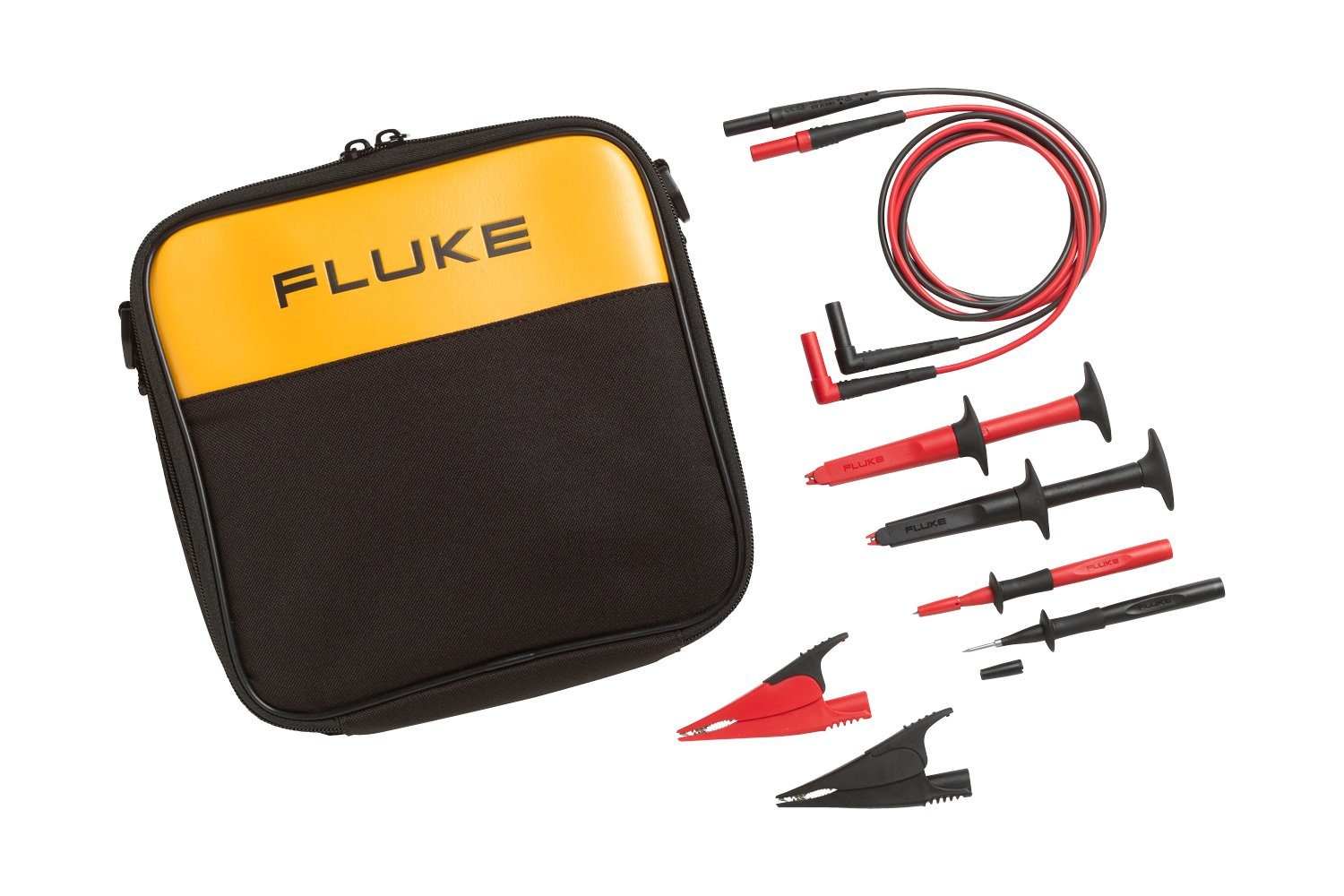 Fluke TLK-220 Suregrip Accessory Set With Meter Carry Case