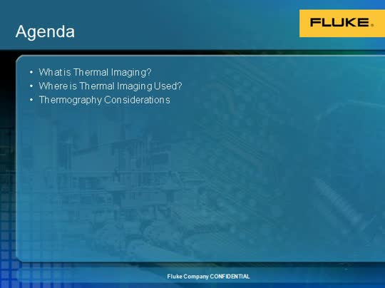 Introduction to Thermography Webinar