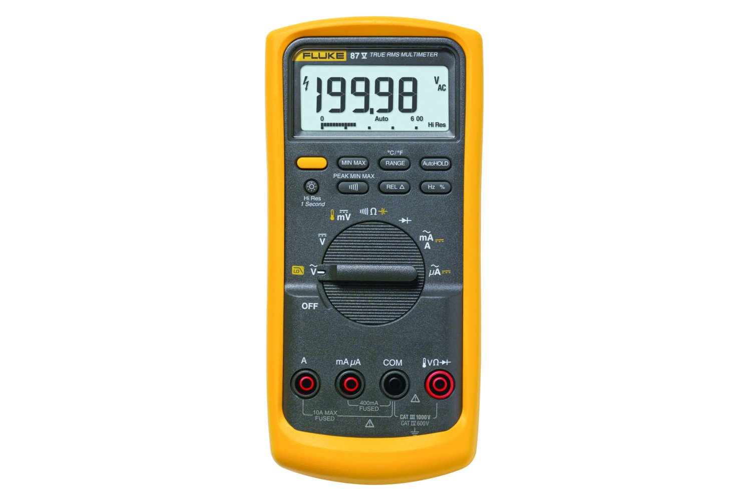 Fluke 87v Industrial Multimeter Acdc You Can Use The Main Window Of Circuit Construction Kit Ac