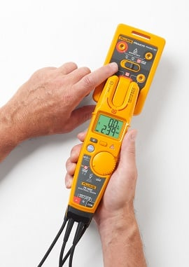 Verify your T6 Electrical Tester with the PRV240FS