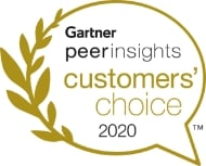 Gartner peer insights customers' choice 2020
