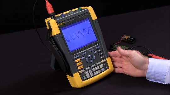 How To Perform An Envelope Capture On 190 Series ScopeMeter Test Tools
