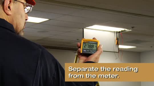 Fluke 233: Remote Display Multimeter for Lighting