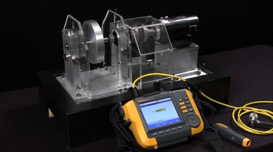 How to Measure Vibration with the Fluke 810
