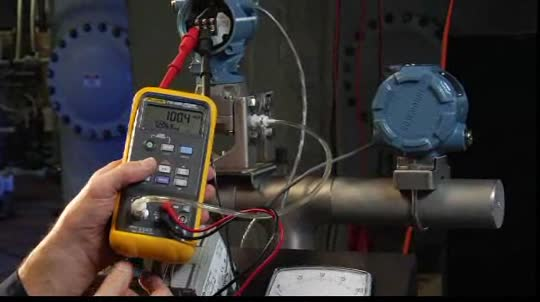 Fluke 719 electric pressure calibrator demonstration