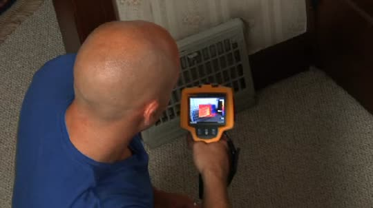 Fluke Thermal Imaging: For Building Inspectors - HVAC