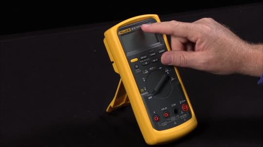 What Are The Power Up Options On The Fluke 87V Multimeter
