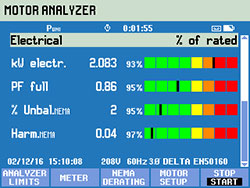 Motor Analyzer Electrical