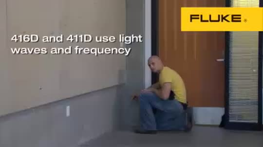 Fluke 411D/416D: Use Light Waves and Frequency