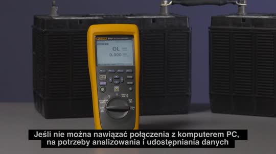 Fluke 500 Series Battery Analyzers Mobile Device