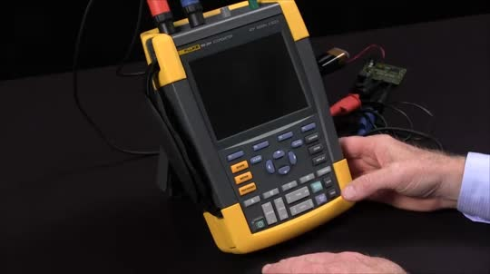 How To Set Up and Reset a ScopeMeter® Test Tools