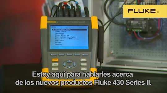 Fluke 435 Series II How to Use Calculator