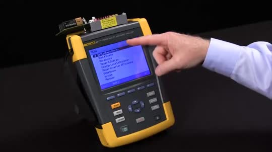 How to Perform a Trend Configuration on the Fluke 435