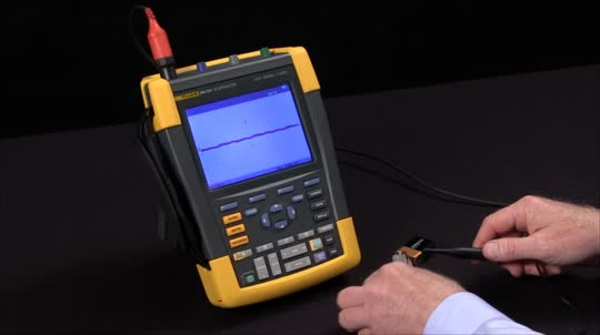 How To Set Up a Basic Trigger On a ScopeMeter® Test Tools