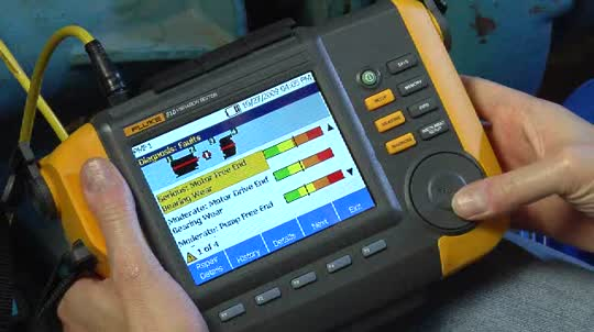 Fluke 810 Diagnose