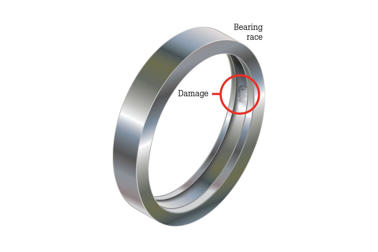Bearing Race Damage
