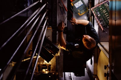 Busy Elevator Electronics Technician Saves Time With New
