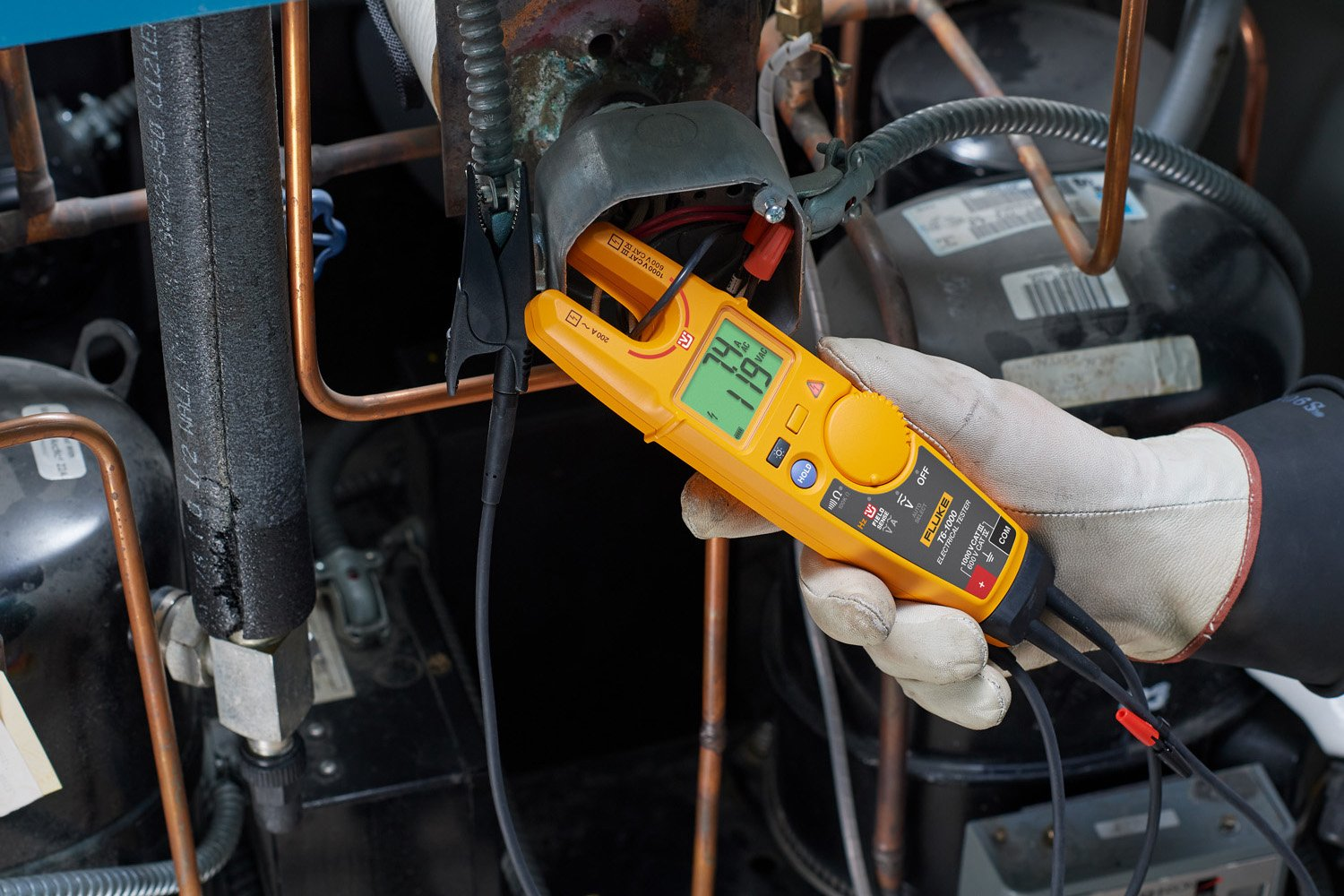 Fluke T6 1000 Electrical Tester Details About Ac Voltage Detector 90v To 1000v Live Circuit