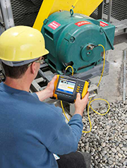Troubleshooting with the Fluke 810 Vibration Tester