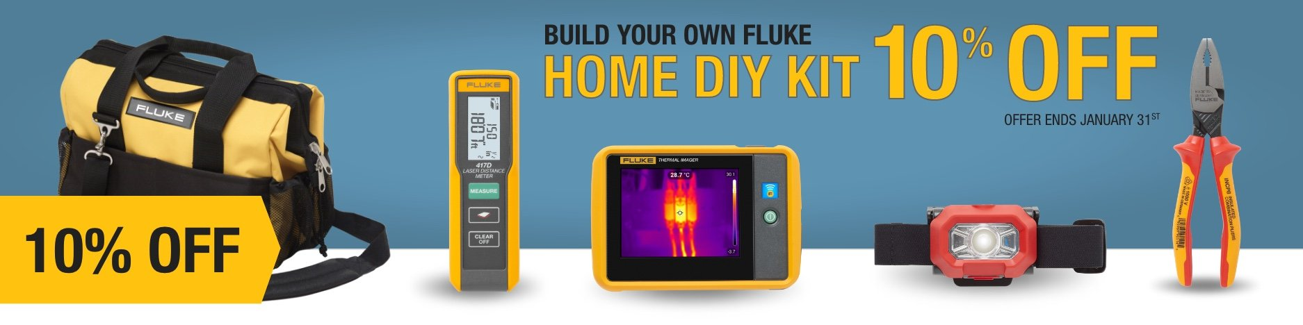 Build your own Fluke home DIY kit