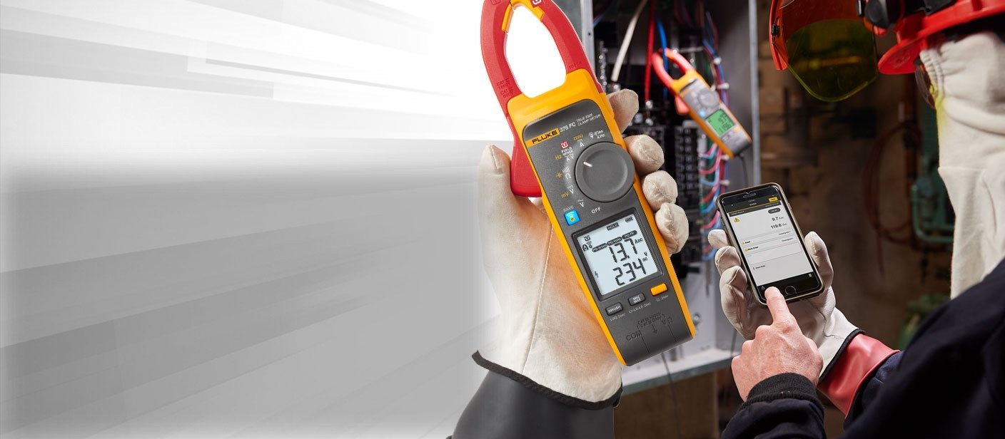 Fluke 377 FC/378 FC clamp meters