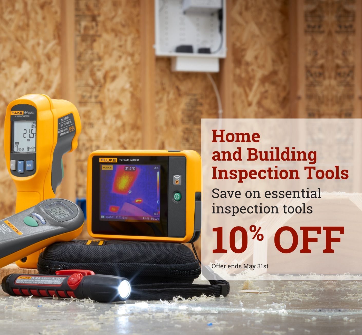 Fluke 10% off Essential Inspection Tools May 2021 Promo