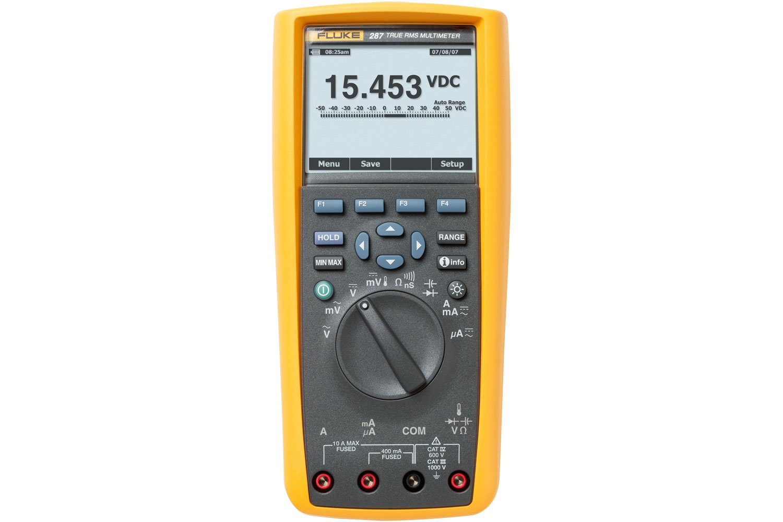 fluke 287 true rms electronics logging multimeter fluke rh fluke com Fluke 10 Fluke 189 True RMS Multimeter