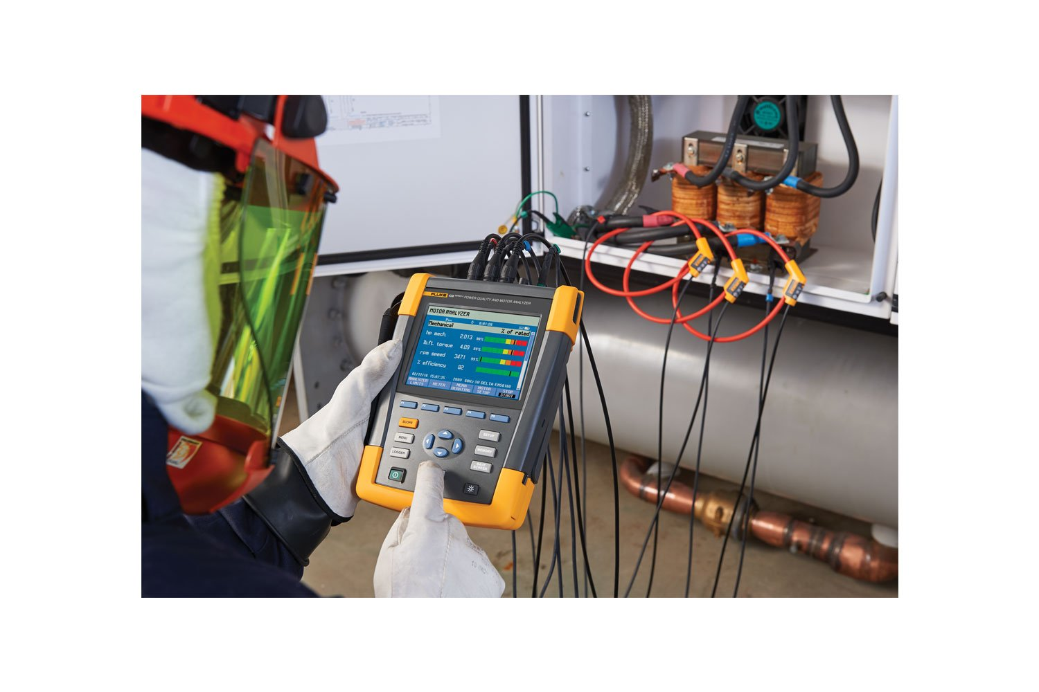 Fluke 438 Ii Motor Power Quality Analyzer Electrical And Mechanical Classes Will Help Prepare Read Full