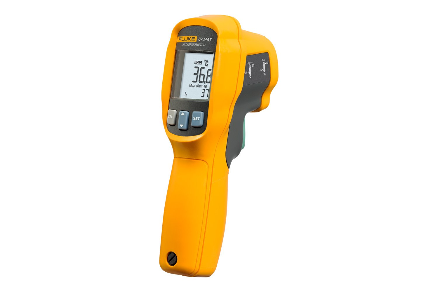 The Fluke 67 MAX Clinical Infrared Thermometer