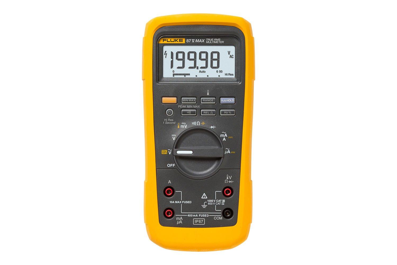 Fluke 87V MAX 真の実効値デジタル・マルチメーター