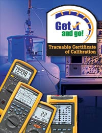 Traceable Certificate of Calibration: Get it and go!