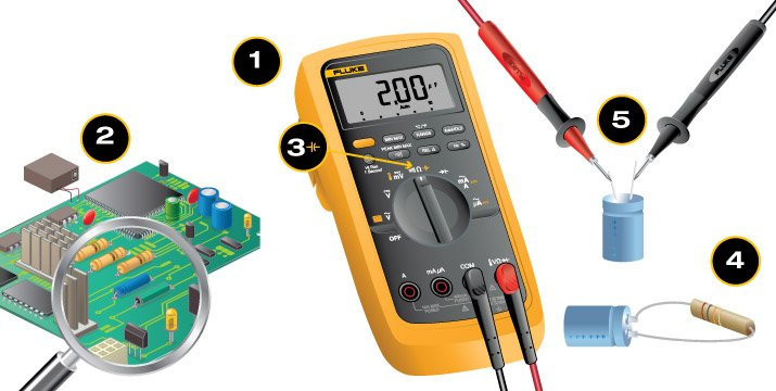 Check Ac Capacitor With Multimeter : How to measure capacitance fluke